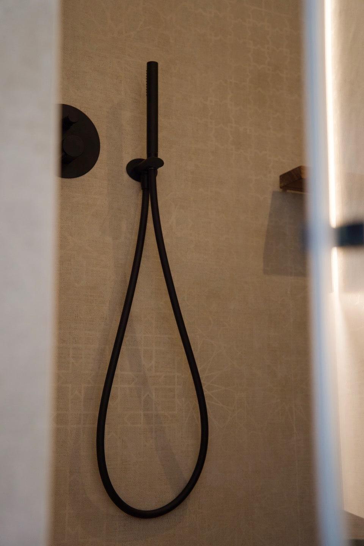 shower of the design Hotel in Bellagio