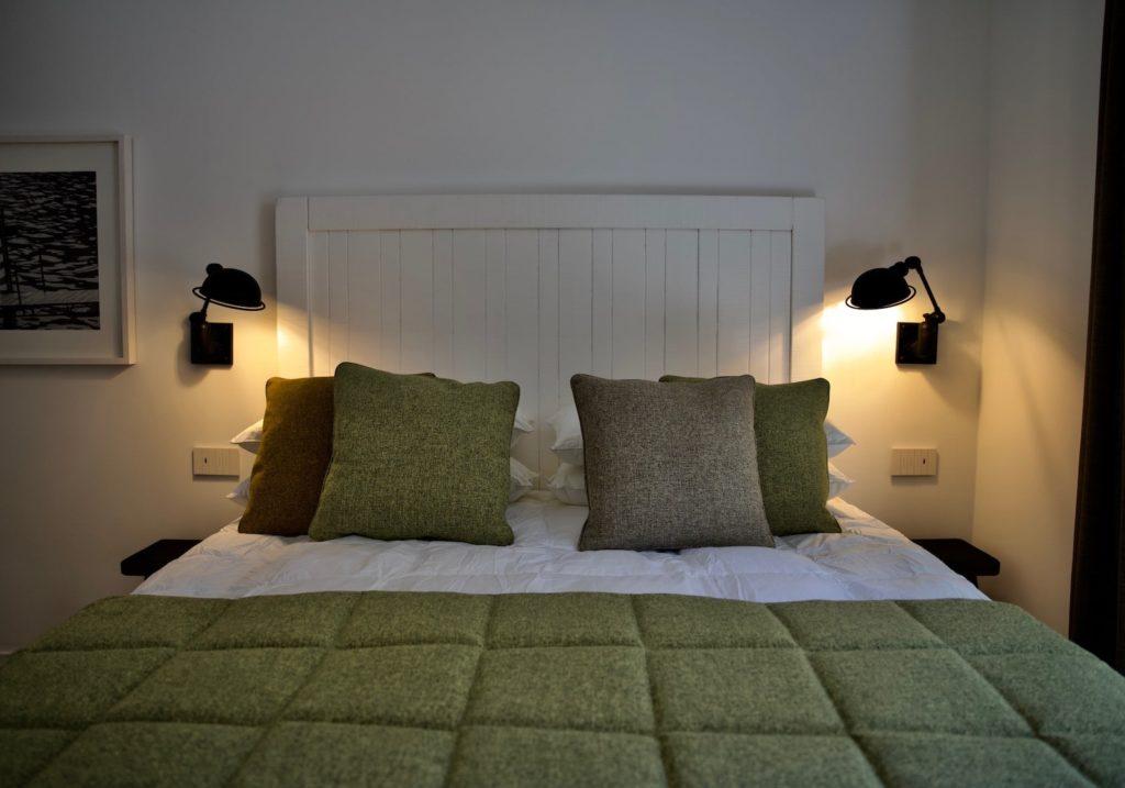 Camera da letto di design Seta Hotel in Bellagio