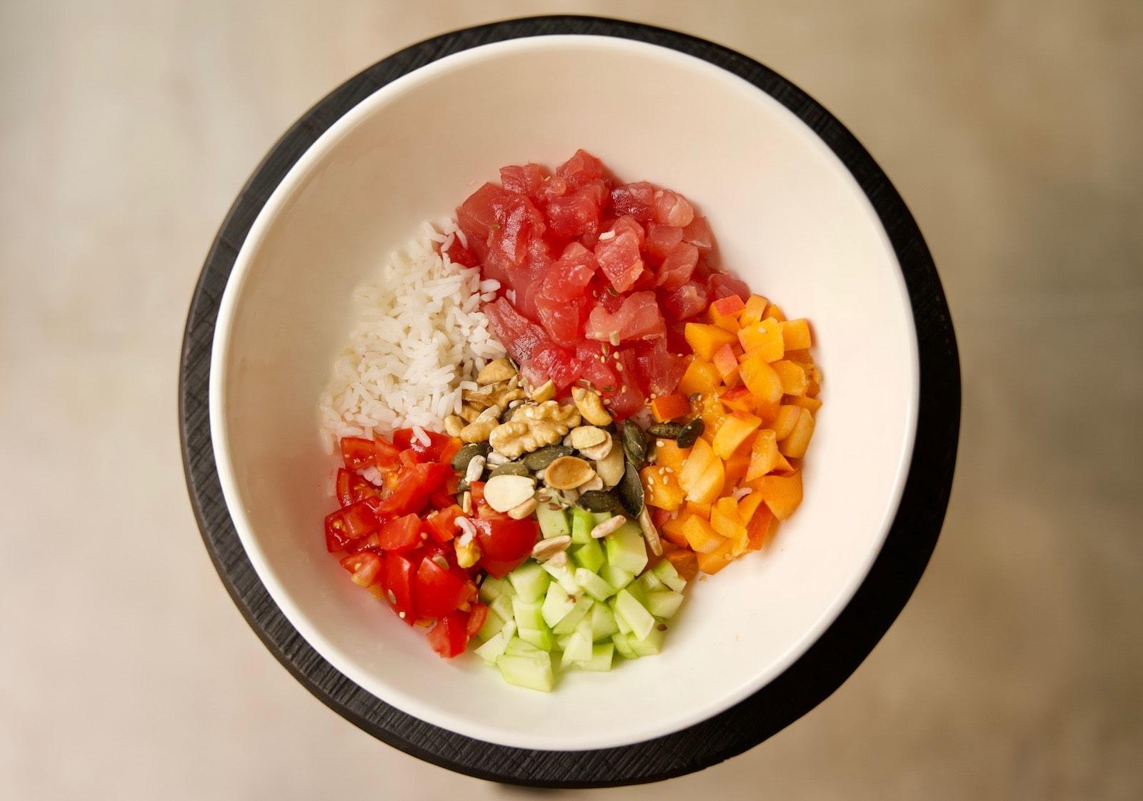 Pokè bowl salad